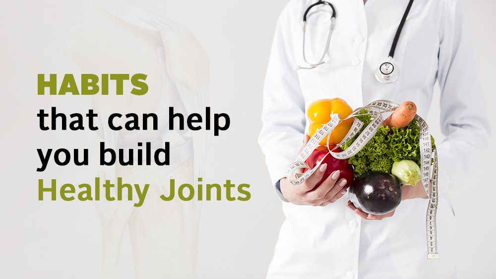 Let's discover some healthy habits for Joint Pains